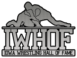 Iowa Wrestling Hall of Fame Footer Logo