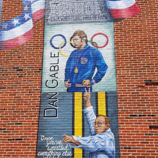 Mural: Dan Gable