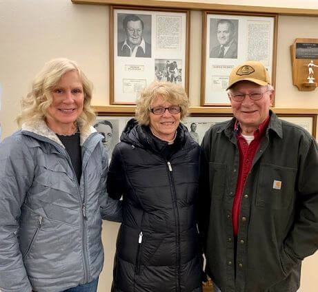 IWHOF Board Member Tours the Hall of Fame News Photo