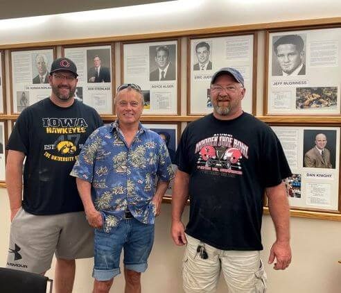 Heck yeah, we want to stop at the Iowa Wrestling Hall of Fame! News Photo